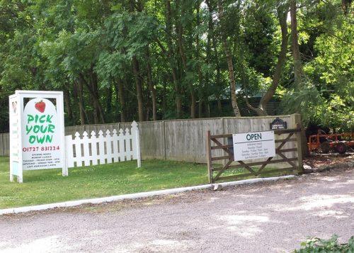 Hawkswick farm entrance